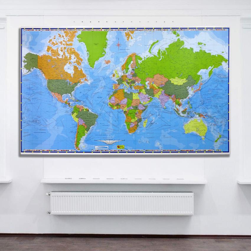 Mapamundi Corporativo retablo