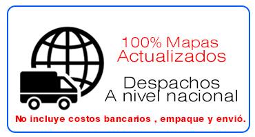 mapas a domicilio colombia